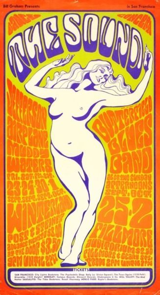 """The Sound""""   Jefferson Airplane/Muddy Waters September 23, 29-30 October 1 of 1966 at Winterland  Butterfield Blues Band, September 25, October 2, 1966 at Fillmore Auditorium"""