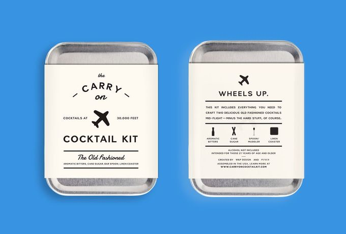 Carry on Cocktail Kit #packaging