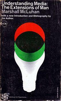 1965 Rudolph deHarak cover design of a Marshall McLuhan book