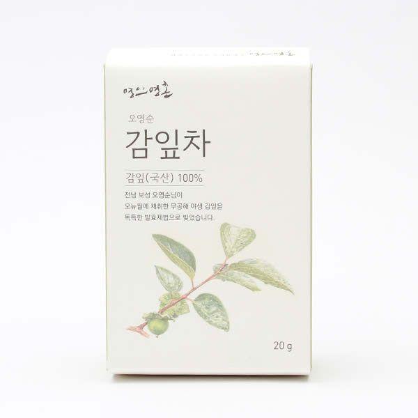 명인명촌 보성 오영순 감잎차 20g - 더현대닷컴