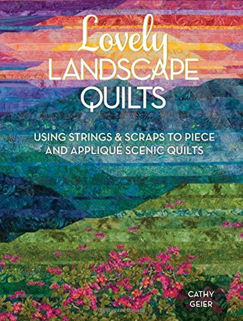在Lovely Landscape Quilts中,您将学习使用条带和废料以及任何人使用的简单技术创建令人惊叹的景观被子的过程