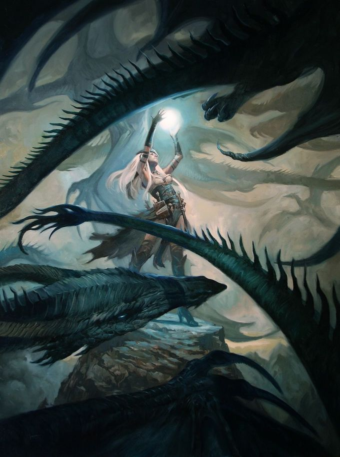 Dragon swarm (Pathfinder  Artifacts & Legends  Cover) by Lucas Graciano