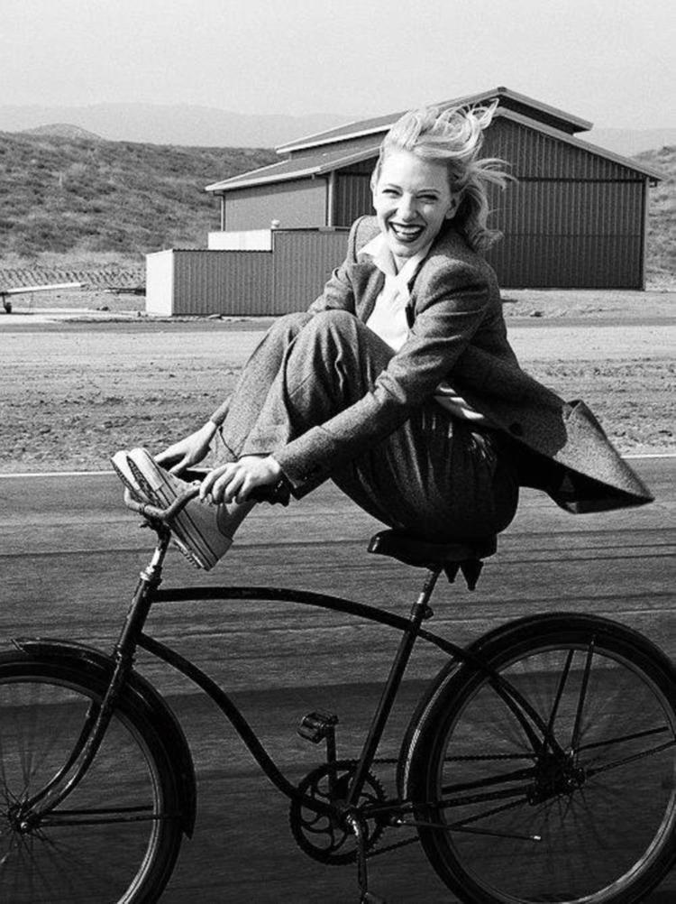 Cate Blanchett photographed by Annie Leibovitz