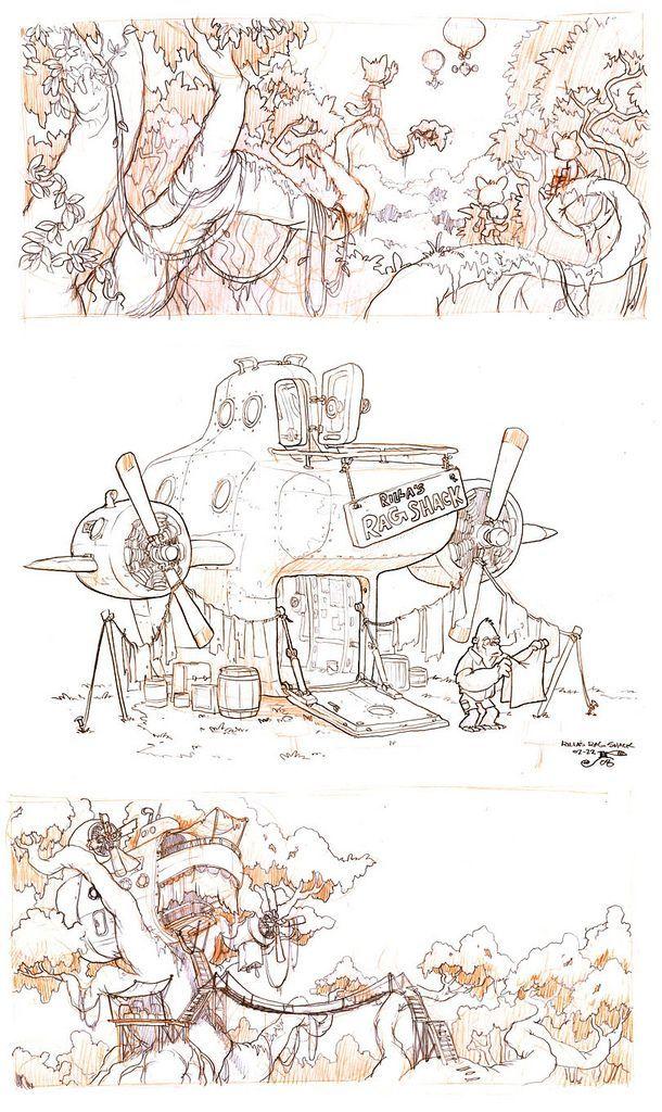 Online game environment design   Illustrator: Jake Parker