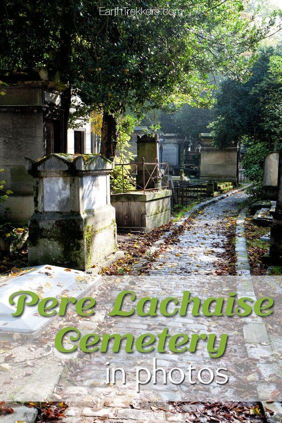 Pere Lachaise墓地照片。有关开放时间,着名的墓葬,Pere Lachaise历史的信息。这是与孩子们一起参加的巴黎活动。