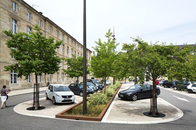 Parking Maître d'ouvrage : Ville de Bar-le-Duc / Maître d'oeuvre : atelier VILLES & PAYSAGES