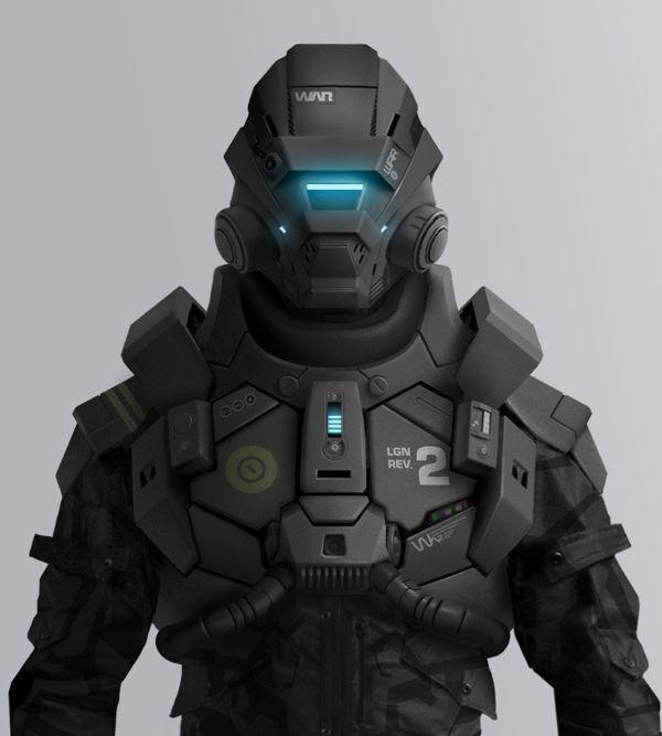Spectre tactical insertion operative in McGrath Power Combat Suit Mk. IV and smart uniform