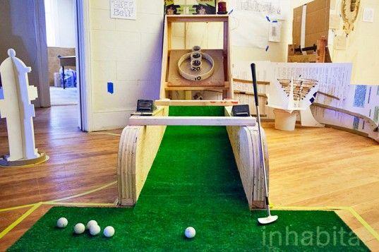 2014年开业时,Urban Putt将成为旧金山首个城市迷你高尔夫球场。
