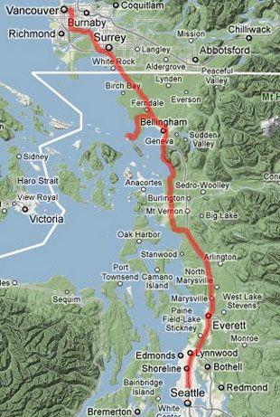 最具海岸特色:从西雅图到温哥华的公路之旅的最终行程