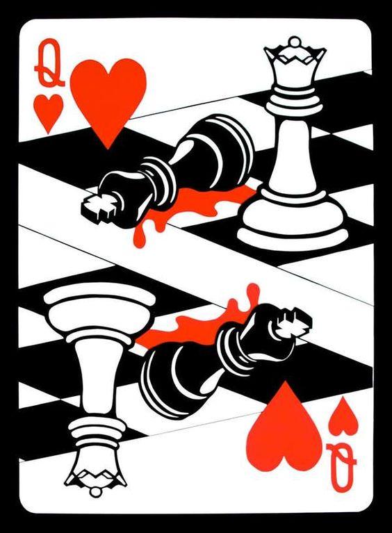 埃马纽埃尔何塞 - 我不认为太多的人花时间去欣赏扑克牌套牌上的艺术作品,但是如果我设法弄到一套......
