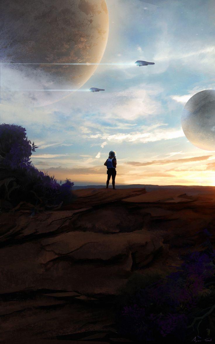 Uncharted Planets by Arjen Sol