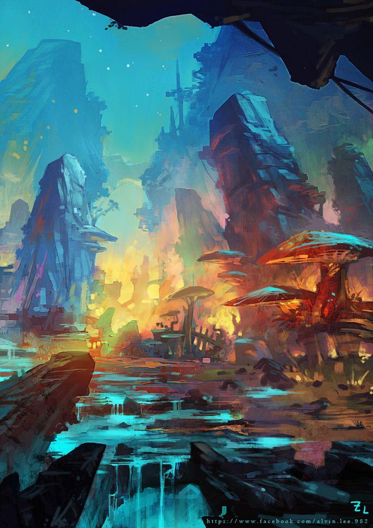//Digital art #Scifi #fantasy