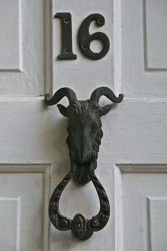 山羊的头门环,汉普斯特德,伦敦