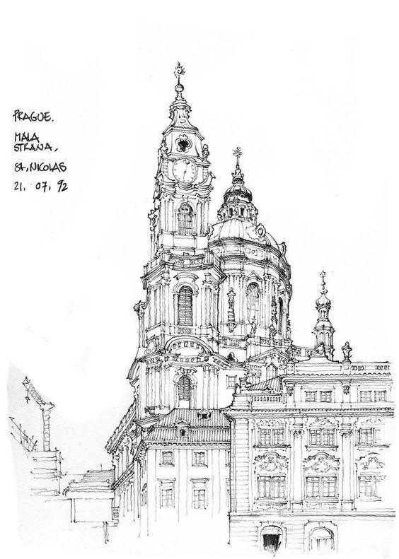 建筑素描: