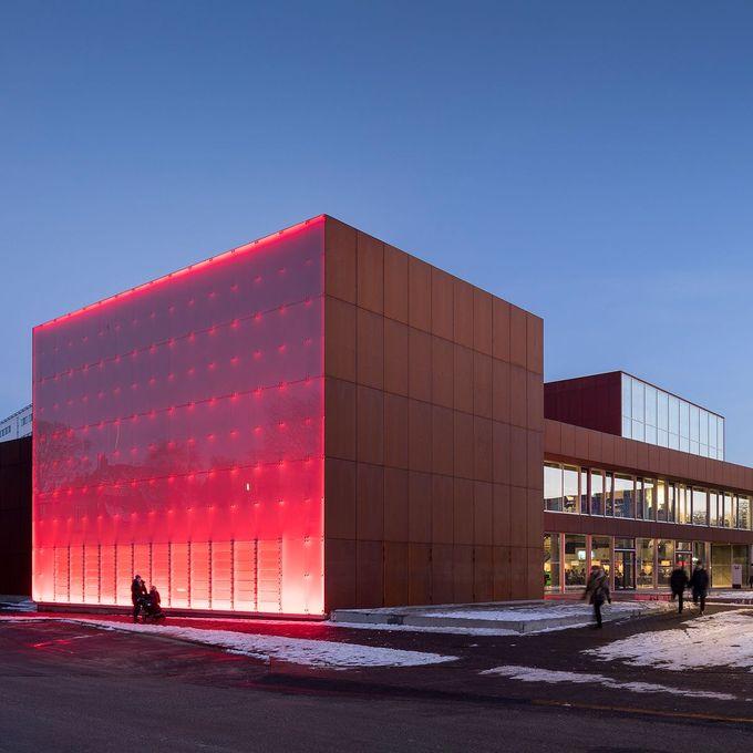 Vendsyssel剧院,Hjørring,丹麦。作者:Schmidt Hammer Lassen建筑事务所。由@missdesignsays发现