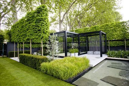 Another POV of the winning garden at the 2009 Chelsea Flower Show, The Daily Telegraph Garden, by Swedish landscape architect Ulf Nordfjell.