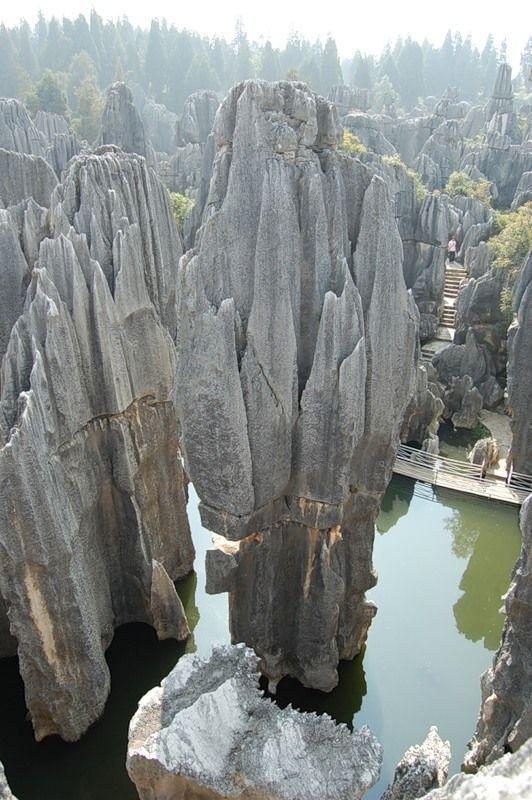 云南石林 - 中国