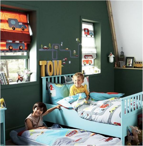 Kid's Rooms Budget Friendly Ideas...Fresh Paint Goes a Long Way: