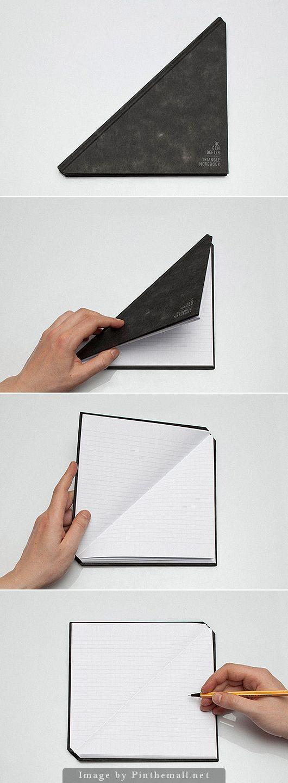The Triangle Notebook by Tan Mavitan