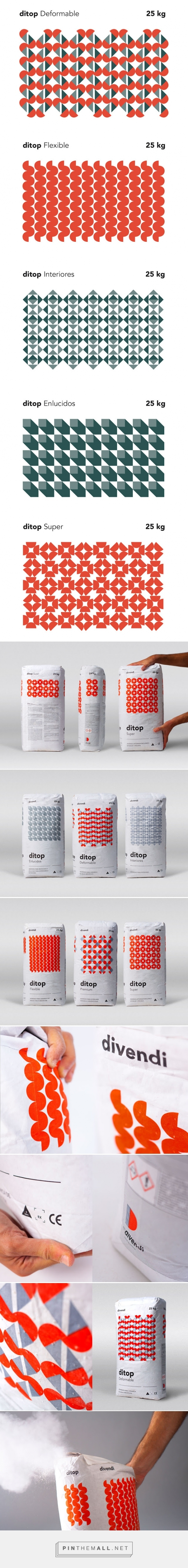 Ditop Cement Packaging Patterns designed by Rubio & del Amo PD