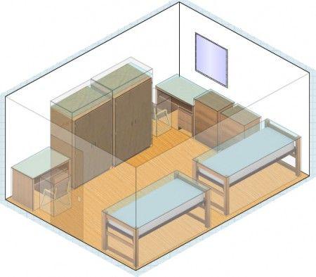 了解如何创建宿舍房间布局。 PLUS:三种不同的宿舍布局想法和宿舍布局生成器。