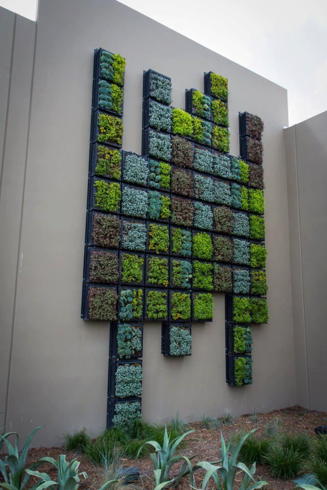 not all vertical gardens are of this grand scale, and the increasing popularity of utilising the concept in home spaces, is rising.