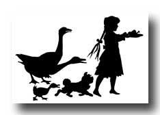 在这个有九个免费剪影的画廊中,有一对夫妇正在吃早餐,两个孩子坐在花园围栏上,一个女孩跟着鹅,还有更多。