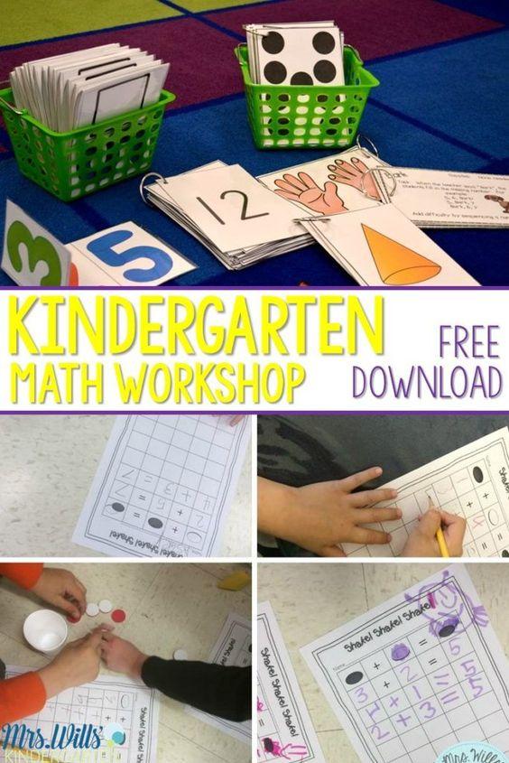 幼儿园数学工作坊。了解我们如何通过数学讲习班来提高流畅度,构建新概念并深入理解数字概念!所有动手学习!