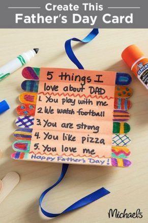 用Father's Dad Kids Crafts的父亲节来庆祝父亲节。给爸爸一个个性化的礼物,这些有趣的工艺品是爸爸会喜欢的。