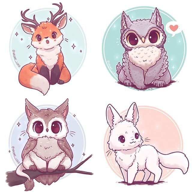 I've really been enjoying my animal fusion series so far! I've also realised that I think I love foxes and owls because pretty much half of them involve at least one  (i think I might need to fuse a fox and an owl one day, should I?! ) As always I love knowing what animals you'd like to see me put in the mix?!  Also this weeks giveaway is now closed (but there's always next week ) • #cute #kawaii #chibi #animalfusion #mythicalfusion #mythical #magical #mythicalcreature #fox #f...