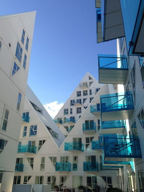 The Iceberg in Aarhus, Denmark. #allgoodthings #danish #architecture spotted by @missdesignsays