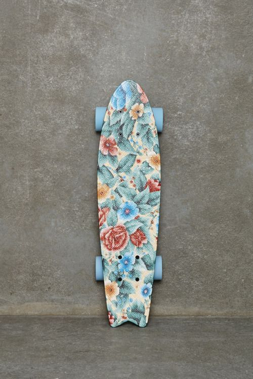 #skate #board #inspiration #flower