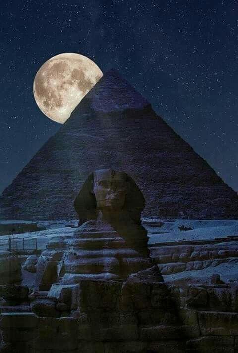 Super Moon in Cairo