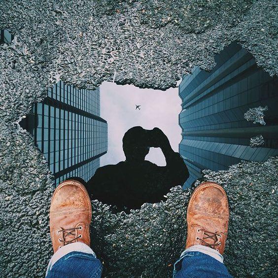 我叫Michael Pistono,我是一名28岁的摄影爱好者,生活在夏威夷的檀香山。我最近在玩一张反射照片,