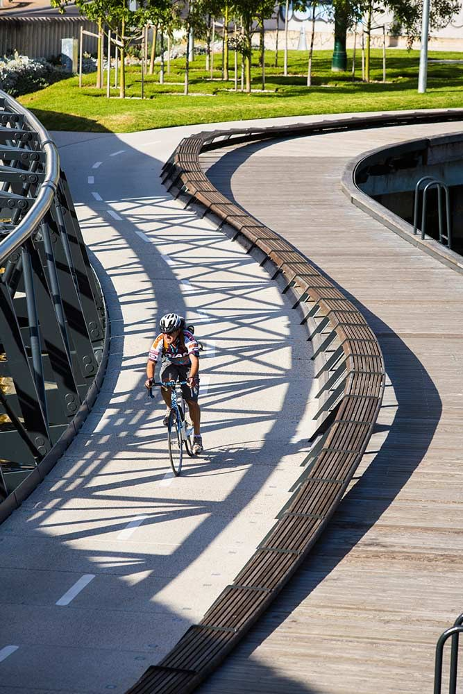 Jim Stynes Bridge project, Melbourne. Click image for full profile and visit…