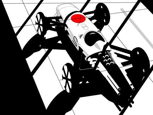 1964-1968 |Honda RA (271/272/273/300) Re-Design |Illustration...