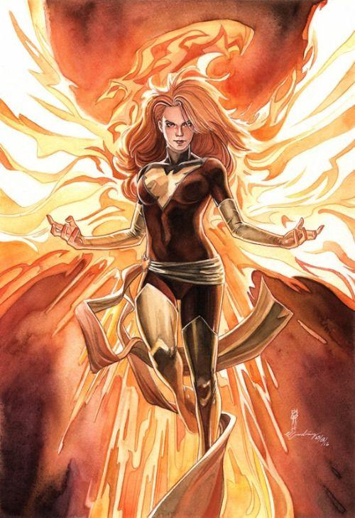 Dark Phoenix  -  Garrie Gastonny&Elfandiary
