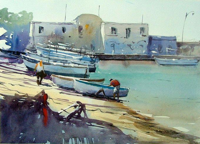 Tim Wilmot Watercolours