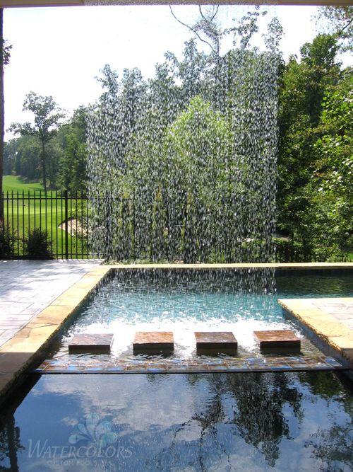 Vertical Water, Watercolors Custom Pools