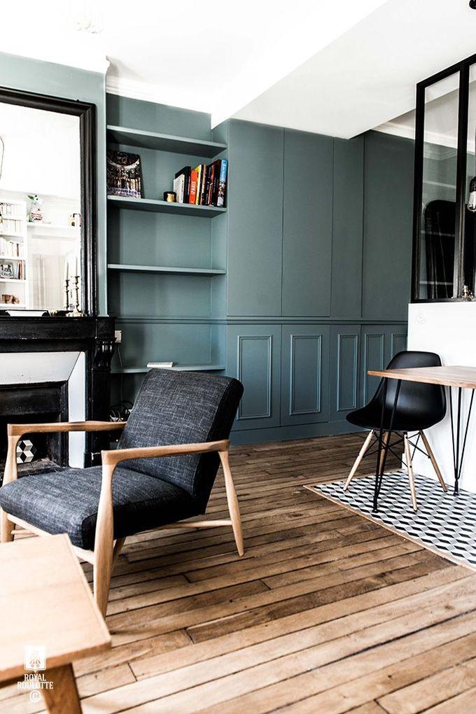 ROYAL ROULOTTE PARIS  - ★ - 公寓翻新/家居装饰/蓝墙/生活
