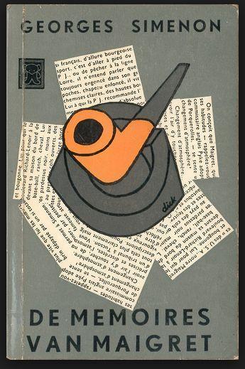 vintage book cover design by Dick Bruna