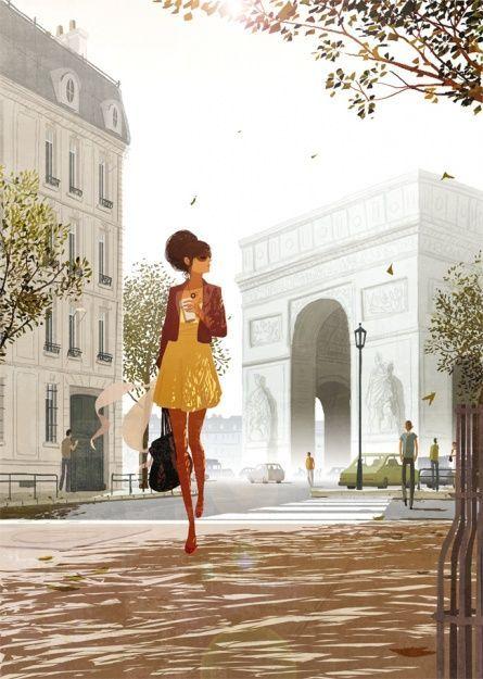 Paris by Matthieu Forichon