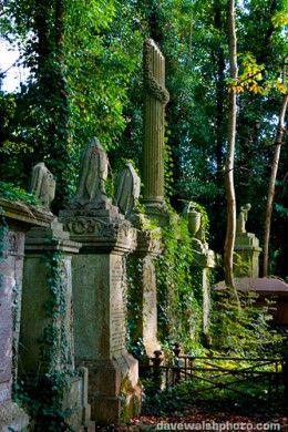 寻找伟大的公墓来调查?伦敦Highgate的Highgate公墓是您去的地方。海尔盖特公墓是卡尔马克思和道格拉斯亚当斯的休息地,是英国闹鬼最多的公墓之一。
