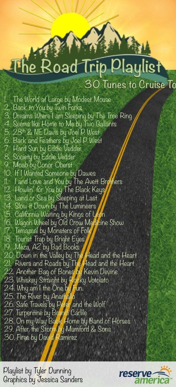 放上音乐,把音乐调高,准备好骑行。如果您在选择公路旅行音乐方面需要帮助,请不要再犹豫了。