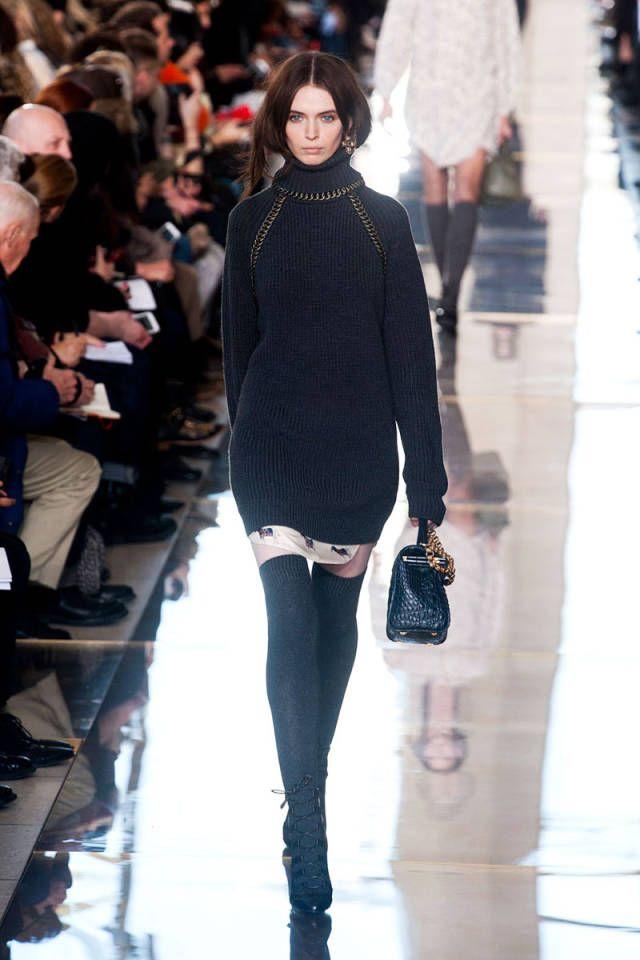 2014年秋季纽约时装周趋势报告正在进行中! 2014年秋季主流趋势:针织品