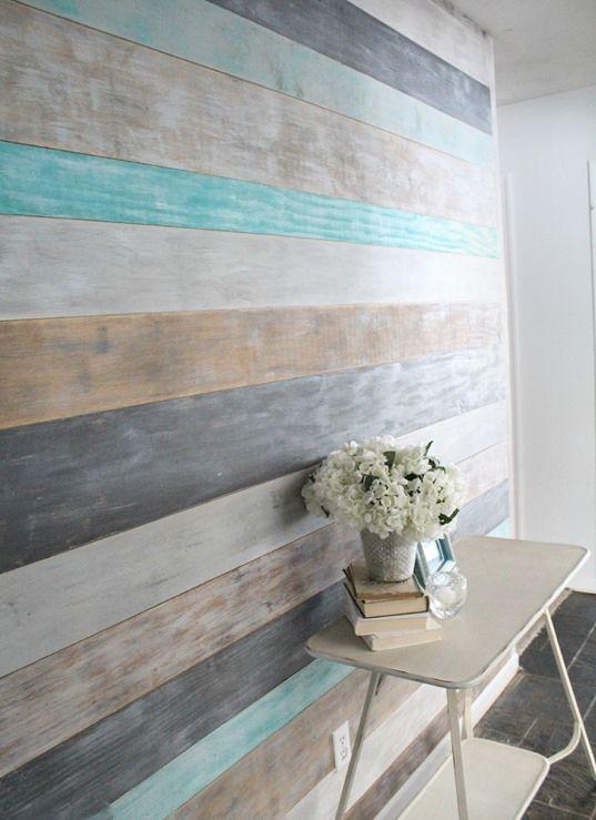 通过学习如何在一天内DIY自己的木板墙达到100美元左右,为您的房间增添温暖和质感。
