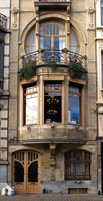 Art nouveau, Bruxelles, Belgique