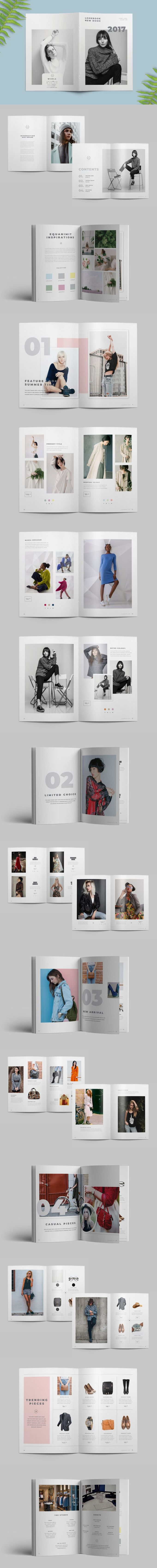 Fashion Catalog Template — Adobe InDesign #product #marketing • Download unlimited items on Envato Elements ⭡