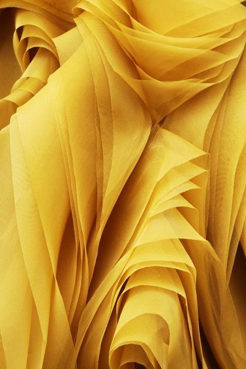 调色板|万寿菊黄色织物
