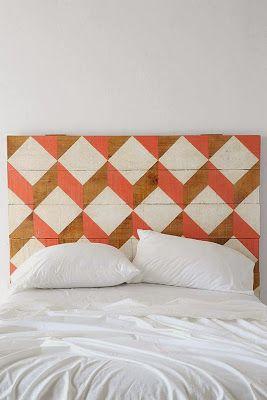 DIY画你的床头板